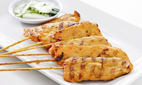 ... chicken satay chicken satay with peanut thai chicken satay chicken